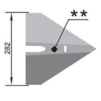 Лапа (282мм) СКП.03.401